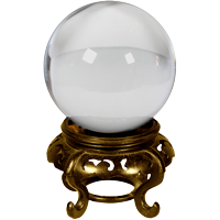icon crystal ball