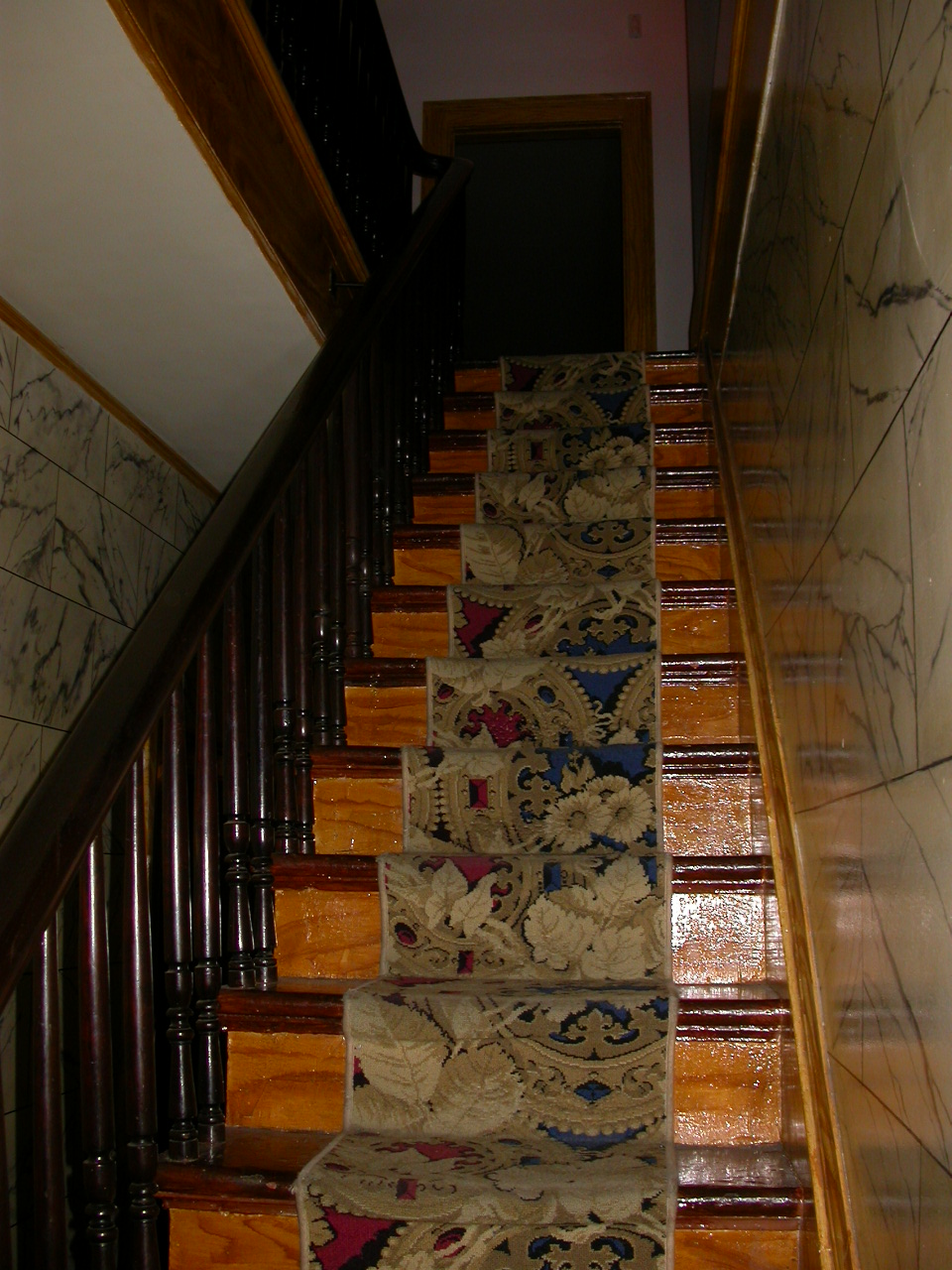 Whaley House staircase